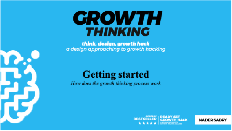 Getting Started Growth Thinking Training 