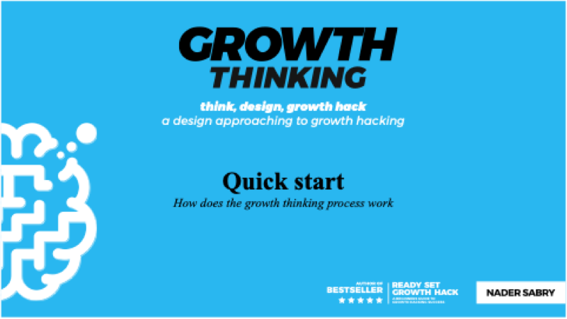 Quick Start Training on Growth Thinking