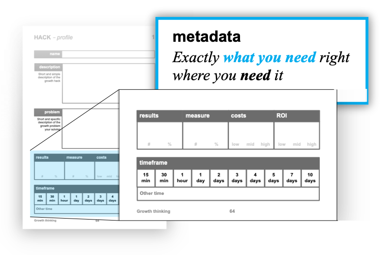 metadata exactly what you need